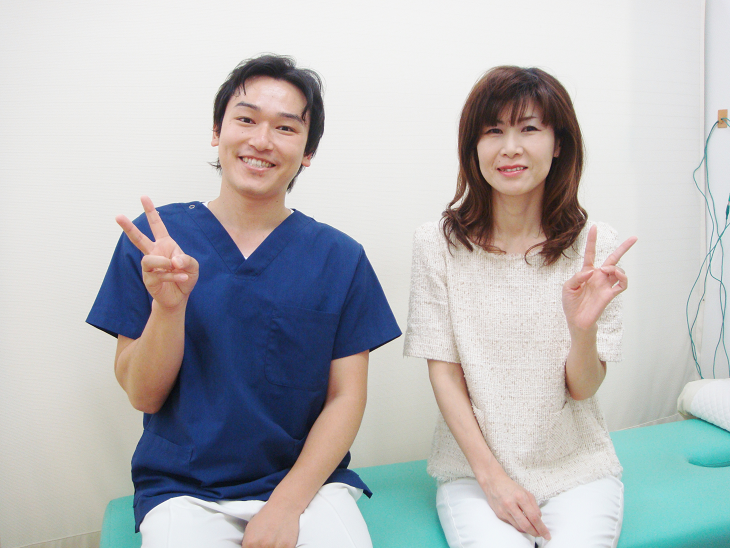 坂井足春江町ひまわり整骨院で頭痛治療を受けた患者さんの写真