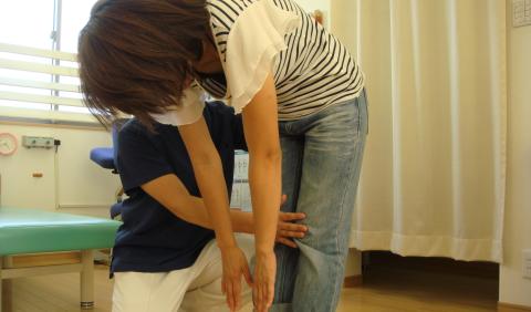 福井市治療院ひまわりの検査法の写真