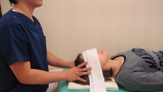 首の状態を良くして顎関節症を改善