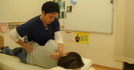 脊柱管狭窄症の施術方法