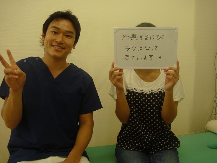 患者様の喜びの声
