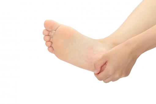 足底腱膜炎の写真