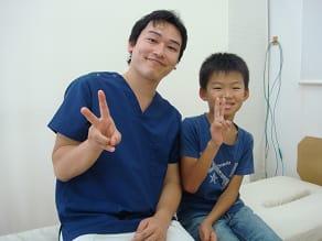福井県福井市の治療院ひまわりでシーバー病の治療を受けた患者さん