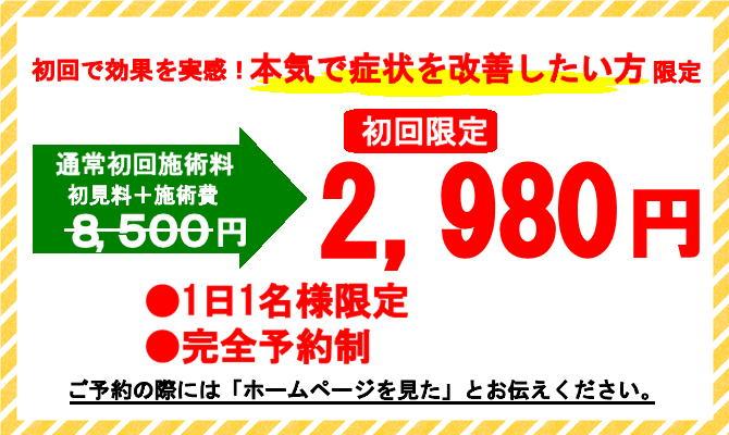 初回限定お試し価格2980円