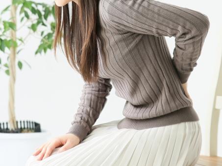 腰痛、坐骨神経痛の痛みの写真