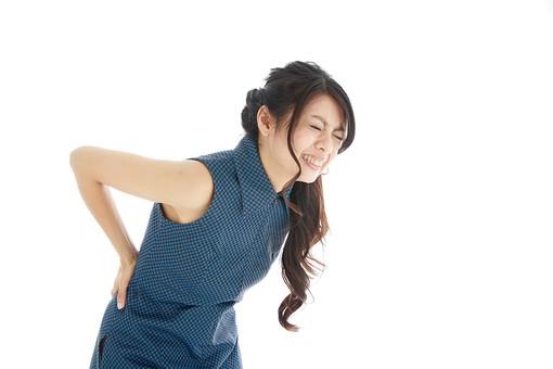 慢性的な腰痛に写真